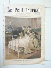 PETIT JOURNAL 1894 DOCTEUR ROUX CROUP / MORT DE BARA JEAN-JOSEPH WEERTS