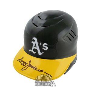 Reggie Jackson Autographed Oakland Athletics Baseball Batting Helmet - JSA COA
