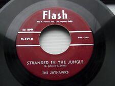 JAYHAWKS stranded in the jungle / my only darling FLASH doowop 45 w6098