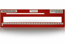 Royal Mail PPI Letter Size Guide Ruler Post Office Postal Postage in Red