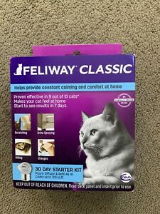 CEVA Animal Health FELIWAY Classic Starter Kit for Cats (Diffuser and 48 ml