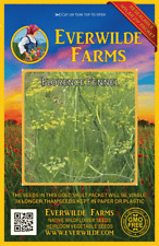1000 Florence Fennel Herb Seeds - Everwilde Farms Mylar Seed Packet
