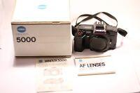 Minolta AF 5000 35mm SLR Film Camera Body Only