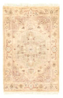 """Vintage Hand-Knotted Carpet 2'0"""" x 3'0"""" Traditional Oriental Wool Area Rug"""