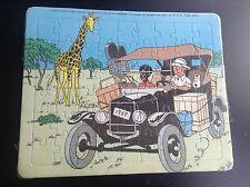 Puzzle Tintin Lombard 1985 au Congo  ETAT NEUF SOUS CELLO