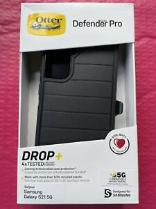 OtterBox Defender Series Pro Case with Holster for Samsung Galaxy S21 5G - Black