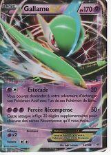 1 Carte Pokemon Gallame EX PV 170  Ultra Rare  (34/108) XY 6 Ciel Rugissant