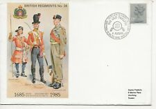 Army FDC's  - 300th Anniversary of Suffolk Regiment - 1985 - (538)