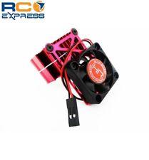 Hot Racing Clip-On Two-Piece Motor Heat Sink W/ Fan (Red) MH550TE02