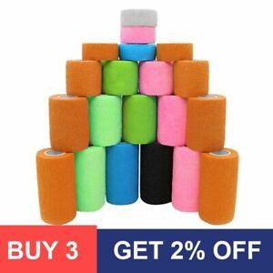 4.5m Colorful Sport Self Adhesive Elastic Bandage Wrap Tape Elastoplast For Knee