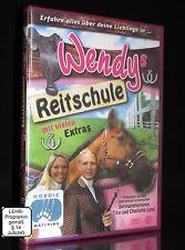 DVD WENDYS REITSCHULE - Wendy - Pferde - TINA & CHARLOTTE LUND *** NEU **