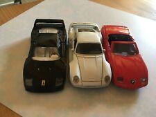 3 x Nobelkarosse Porsche 959 1:36 BMW Z1 Ferrari F40 1:39