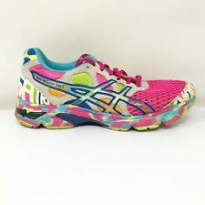 Asics Womens Gel Noosa Tri 7 T264N Multicolor Running Shoes Lace Up Size 7.5
