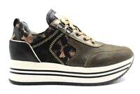 Scarpe da donna Nero Giardini 13291D sneakers platform casual sportive alla moda