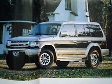 MITSUBISHI Pajero Brochure 1992 JDM Wagon Diesel V6 Shogun Raider Montero 三菱パジェロ