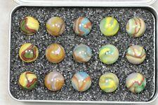 "Dave's Appalachian Swirls ""E & M"" Box of Marbles"