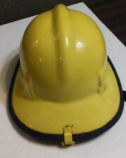 Vintage Cairns & Brother Fireman's Hat Model 770 Yellow - Order Number 46461