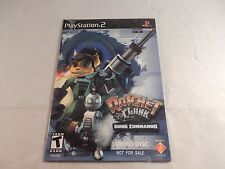Ratchet & Clank: Going Commando (Sony Playstation 2) RARE DEMO, NEW! #G353