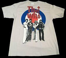 New (L) THE WHO Cream Graphic T-Shirt Legendary Music Rock Cygnus Guitar