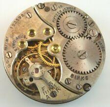 Vintage Birks Mechanical Wristwatch Movement -  Parts / Repair