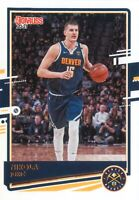 Nikola Jokic 2020-21 Panini Donruss Basketball Base Card #7 Denver Nuggets NBA