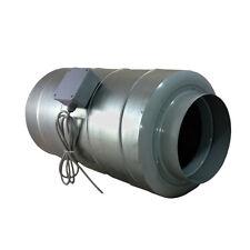 "150mm 6"" Inline Silent Duct Fan & Silencer Combined 520 m3/hr - Ventilation"