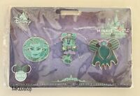 Disney Parks Minnie Mouse Main Attraction Haunted Mansion Leota Pin Set IN HAND
