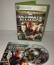 Marvel: Ultimate Alliance Gold Edition Complete In Box(Microsoft Xbox 360, 2007)