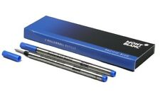Montblanc 2 Recharges pour Rollerball (f) Pacific Blue