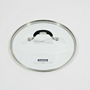 "Replacement Glass Lid 9 1/4"" ID 9 3/4"" OD Pot Pan Skillet TRAMONTINA L8E22"