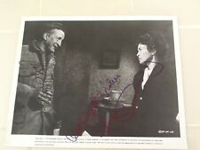 George C Scott & Faye Dunaway SIGNED 8x10 Photo 1975 Oklahoma Crude