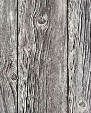 Bluff Holzplatte realistisch gemaserte texturiert Strukturtapete braun j02417