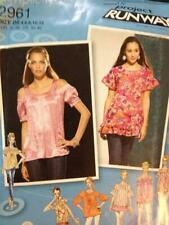 Simplicity Sewing Pattern 2961 Ladies / Misses Tops Size 4-12 Uncut