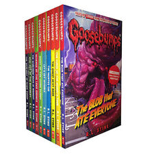 Goosebumps Series 10 Books Collection Set R. L. Stine Stay out of the Basement