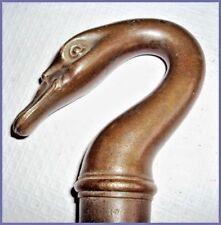robinet col de cygne en  bronze XIXème