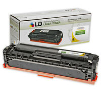 LD Remanufactured Replacement for HP 128A / CE322A Yellow Laser Toner Cartridge