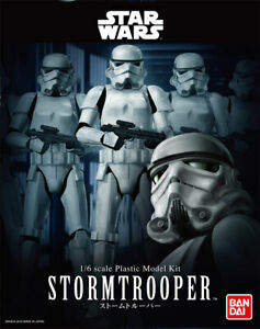 Star Wars Stormtrooper 1/6 Scale Model Kit by Bandai Japan 26WBA73