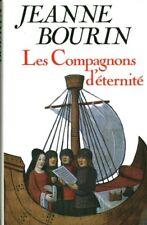 Livre les compagnons d'éternité Jeanne Bourin book