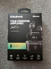 SkullCandy Indy XT Evo, Bluetooth, True Wireless Earbuds, Black, Brand New
