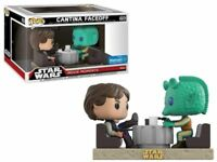 Cantina Faceoff Greedo Han Solo Star Wars Movie Moments POP! Vinyl Figur Funko