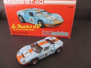 1/43 coffret JOUEF EVOLUTION FORD GT 40 LE MANS 1969