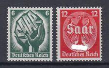 Dt. Reich 544-545 Saarabstimmung am 13. Jan.1935  6 Pf+12 Pf postfrisch