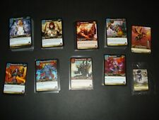 350+ Card Lot World of Warcraft TCG with 3 loot cards NO DUPLICATES