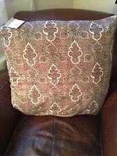 """Pottery Barn Libbey Velvet Paisley 24"""" Pillow Cover Gorgeous"""