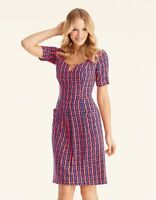 PD529 BRAVISSIMO GEO FLORAL DRESS BY PEPPERBERRY (111)
