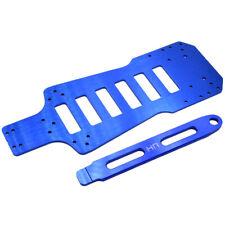 Hot Racing LMS1606 Losi Mini Slider Blue Aluminum Chassis