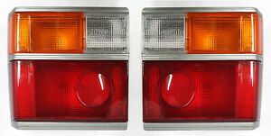 *NEW* TAIL LIGHT BACK LAMP SUIT TOYOTA COASTER BUS 20/30 SERIES 1982- 1993 PAIR