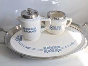 Antique WMF Wachtersbach Keramik Set