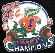 UNIVERSITY OF FLORIDA  GATORS 1992 SEC EAST CHAMPIONS WILLABEE & WARD PIN