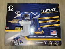 Graco TC Pro Cordless Airless Paint Sprayer  20V Dewalt Batteries New